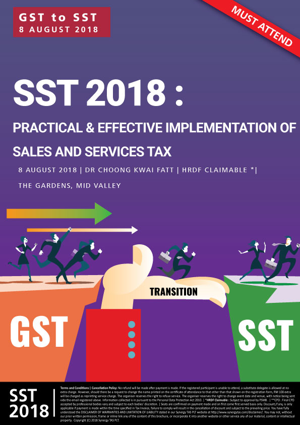 Transition from GST to SST